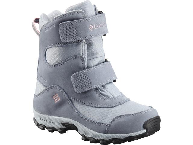 Columbia Parkers Peak Hook-and-Loop Boots Kids cirrus grey/rosewater